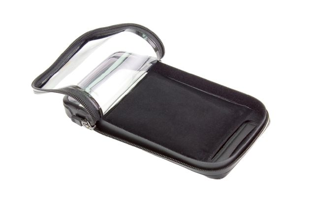 The BioLogic Bike Mount WeatherCase has a padded backing to hold the phone snug