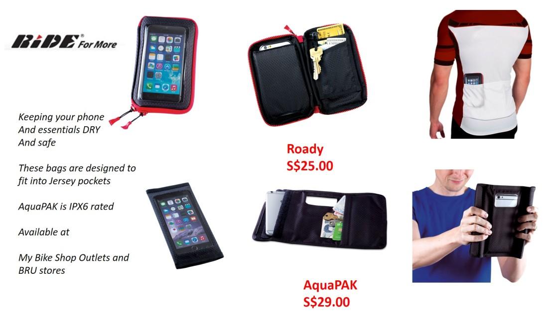 RFM aquapak and Roady